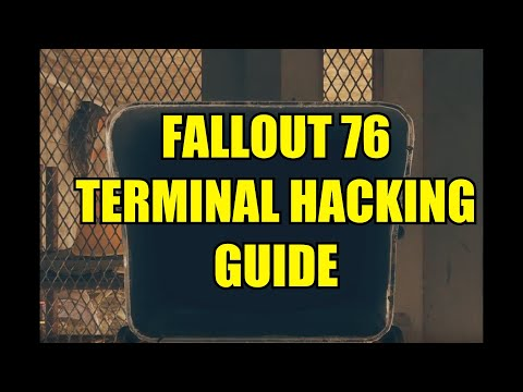Fallout 76 Terminal Hacking Guide