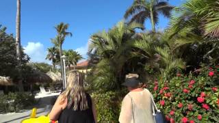 Marriott Aruba Surf Club grounds tour - Marriott Vacation Club, Aruba