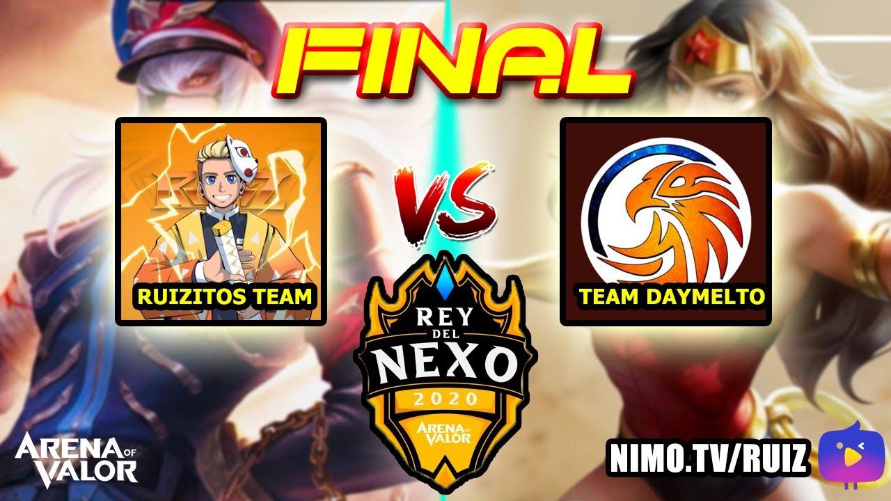 REY DEL NEXO   LA GRAN FINAL !! RUIZITOS VS DAYMERS !!