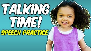 Videos for Toddlers - Songs, Speech and Learning -  Baby or Toddler Speech Delay - First Words