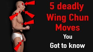 5 deadly wing chun moves you got know
