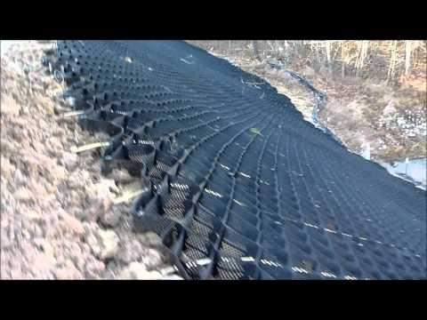 Geo Web: Slope Stabilization Project