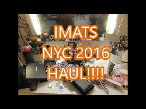IMATS NYC 2016 HAUL!