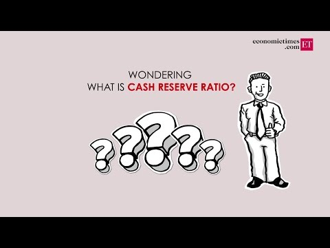 What is Cash Reserve Ratio?
