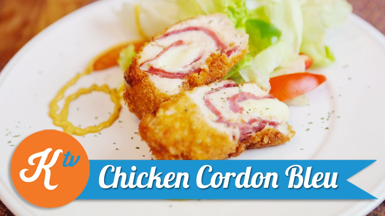 Resep Chicken Cordon Bleu YUDA BUSTARA YouTube