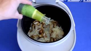 Рецепт приготовления жареной картошки с опятами в мультиварке VITEK VT-4215 BW