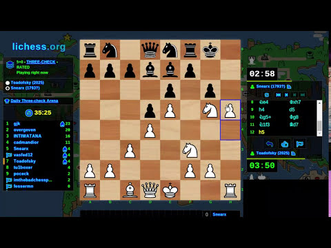 Toadofsky learns atomic and 3-check chess