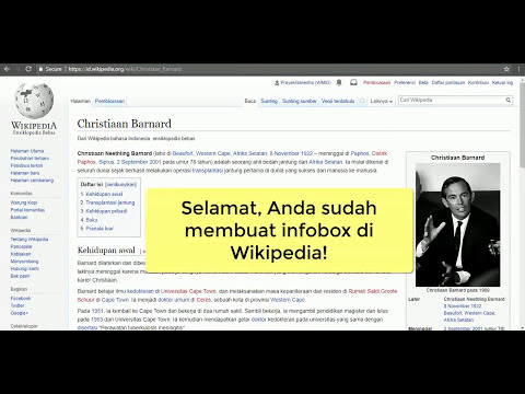 Tutorial Wikipedia - Menyisipkan Infobox