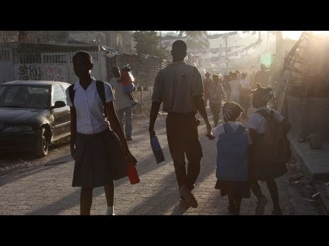 Films from Haiti: 'Late for School'