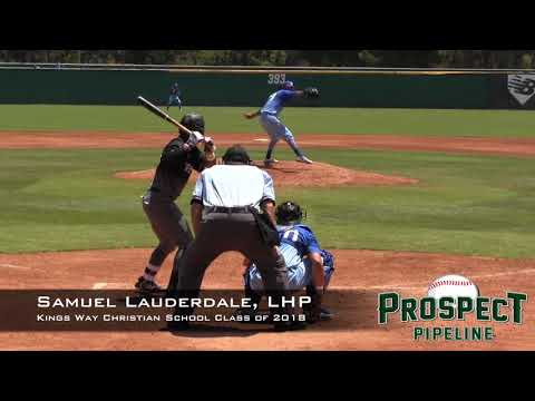 Samuel Lauderdale Prospect Video, LHP, Kings Way Christian School Class of 2018
