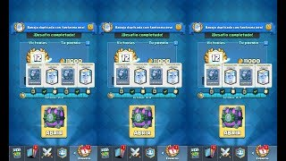¡Gano 6 veces el desafío del fantasma real y consigo 6 cofres legendarios gratis! (Clash Royale)