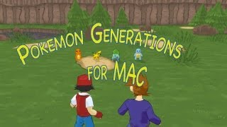 How to install Pokemon Generations for MAC