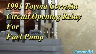 Video Toyota Fuel Pump Circuit Opening Relay download MP3, 3GP, MP4, WEBM, AVI, FLV November 2018