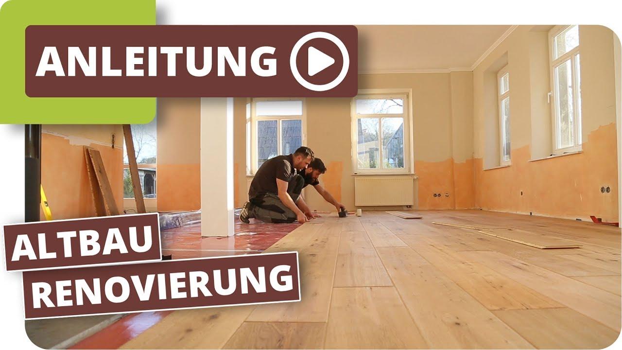 Altbau Renovierung - altes Bauernhaus im Landhausstil gestalten
