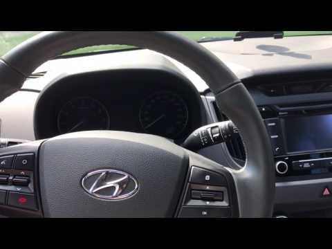 Прокол колеса, датчики давления в Hyundai Creta
