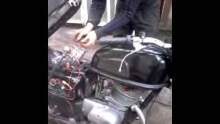 видео Установка газовой аппаратурына мотоцикл или скутер