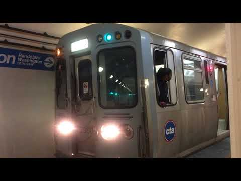 "2600 Series ""L"" Blue Line at Washington Station! (2017)"
