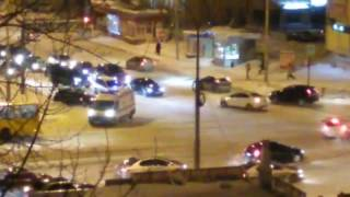 ДТП на перекрёстке с 8 Марта-Большакова столкнулись  2 машины