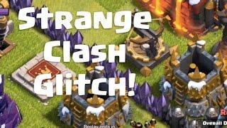 Strange Bug in Clash of Clans | x-bow acting weird | Glitch in Clash
