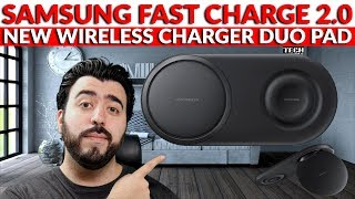 Samsung New Wireless Charger Duo Pad Fast Charge 2.0 Unboxing & How It's Different