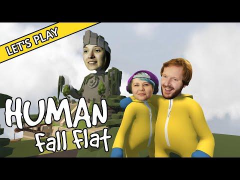 Wir sind Humans und wir fallen flat! Linn, Chris und Julia reisen in Human: Fall Flat durch surreale schwebende Traumwelten und versuchen ausgetüftelte ...