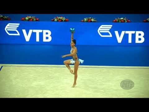 DOMINGUES Tania (POR) - 2017 Rhythmic Worlds, Pesaro (ITA) - Qualifications Ball