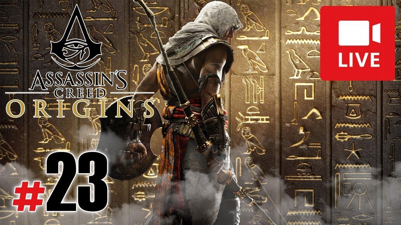 "[Archiwum] Live – Assassin's Creed Origins! (9) – [3/3] – ""Walka z Hieną"""