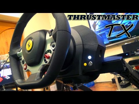 Обзор руля Thrustmaster TX Racing Wheel Ferrari 458 Italia Edition Поющая циркулярка