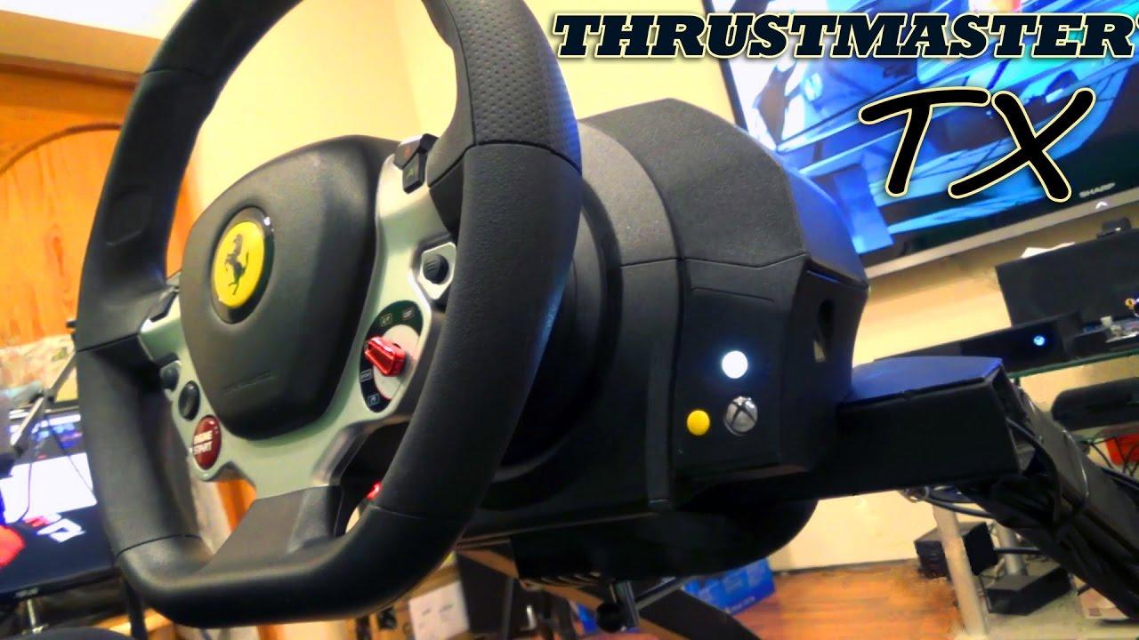 "Обзор руля - Thrustmaster TX Racing Wheel Ferrari 458 Italia Edition - ""Поющая циркулярка"""