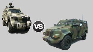 «Барс-8» против «КрАЗ Кугуар»