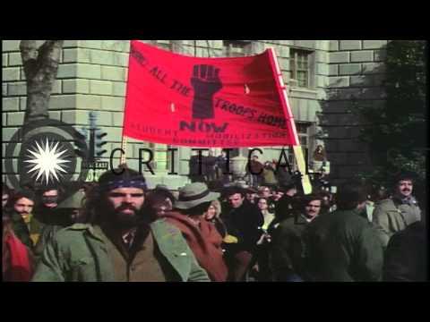 Huge protest against the Vietnam War, November 15, 1969