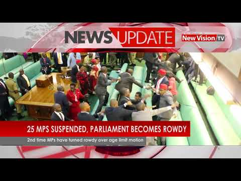 Parliament after Kadaga suspended MPs