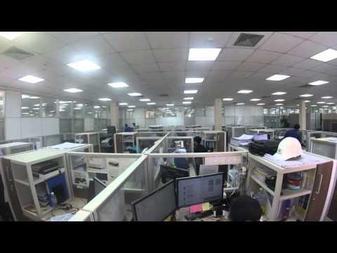Office Timelapse MAY 09 2016 Steelcase Dealer Riyadh Saudi Arabia
