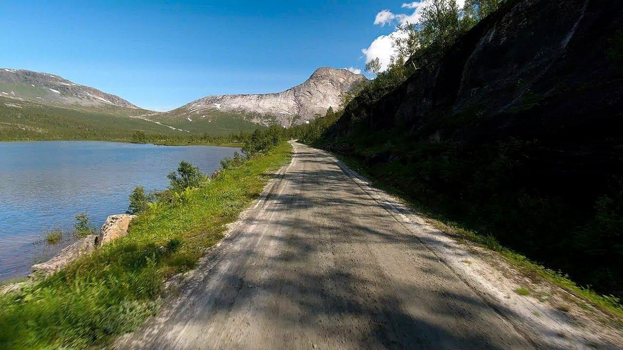Sykkeltur langs Gjerdalen i Sørfold