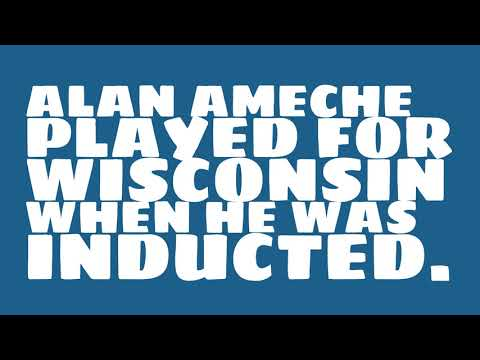 Who did Alan Ameche play for?