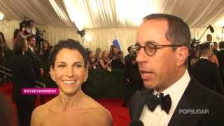 "Jerry Seinfeld & Jessica Seinfeld on His ""Punk"" White Sneakers 