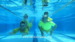 Swimming Dad - Does swimming make us better parents?