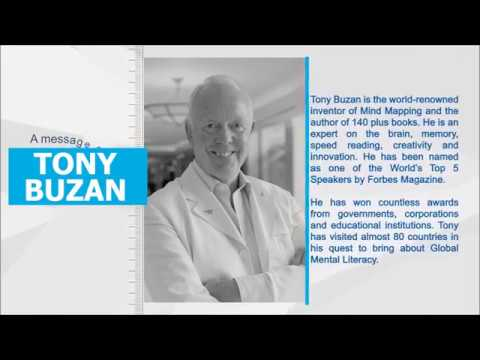 Message from Tony Buzan – One of World's Top Expert on Brain and Memory