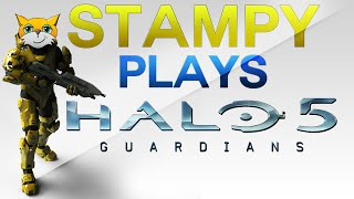 Stampy Plays Halo 5!  (Gameplay Commentary)