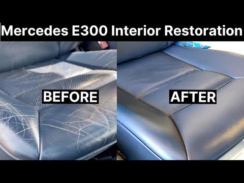 Mercedes E300 Full Leather Interior Repair | COLOURLOCK
