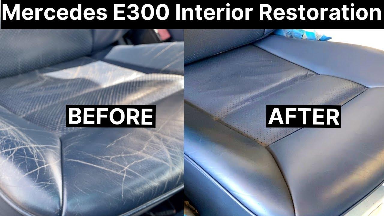 Download Mercedes E300 Full Leather Interior Repair | COLOURLOCK
