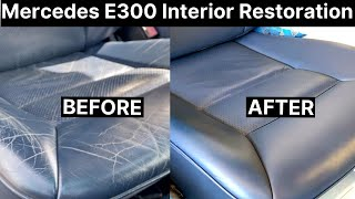Mercedes E300 Full Leather Interior Repair | COLOURLOCK
