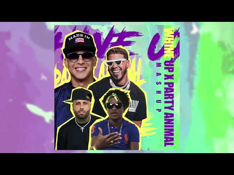 Whine Up X Party Animal - Anuel AA, Daddy Yankee, Nicky Jam, Charly Black
