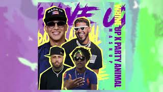 Whine up x Party Animal - Anuel AA, Daddy Yankee, Nicky Jam, Charly Black.mp3