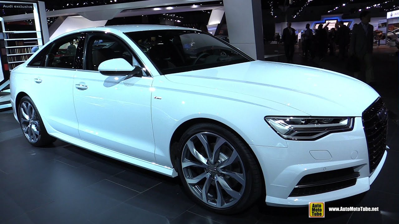 2015 Audi A6 TDI Exterior And Interior Walkaround 2014