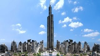 Azerbaijan Tower- 1 km Tall Tower- World's Tallest Proposed Tower