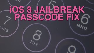 How to use a passcode with the iOS 8.x jailbreak