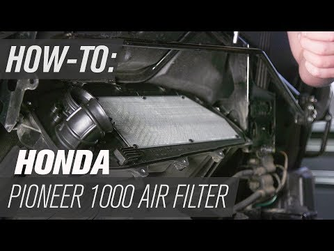 Honda Pioneer 1000 | UTV Air Filter Change