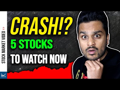 Stock Market Crash? 5 Stocks to WATCH!