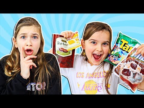 AMERICAN KIDS TRY SNACKS FROM INDONESIA!! | JKrew
